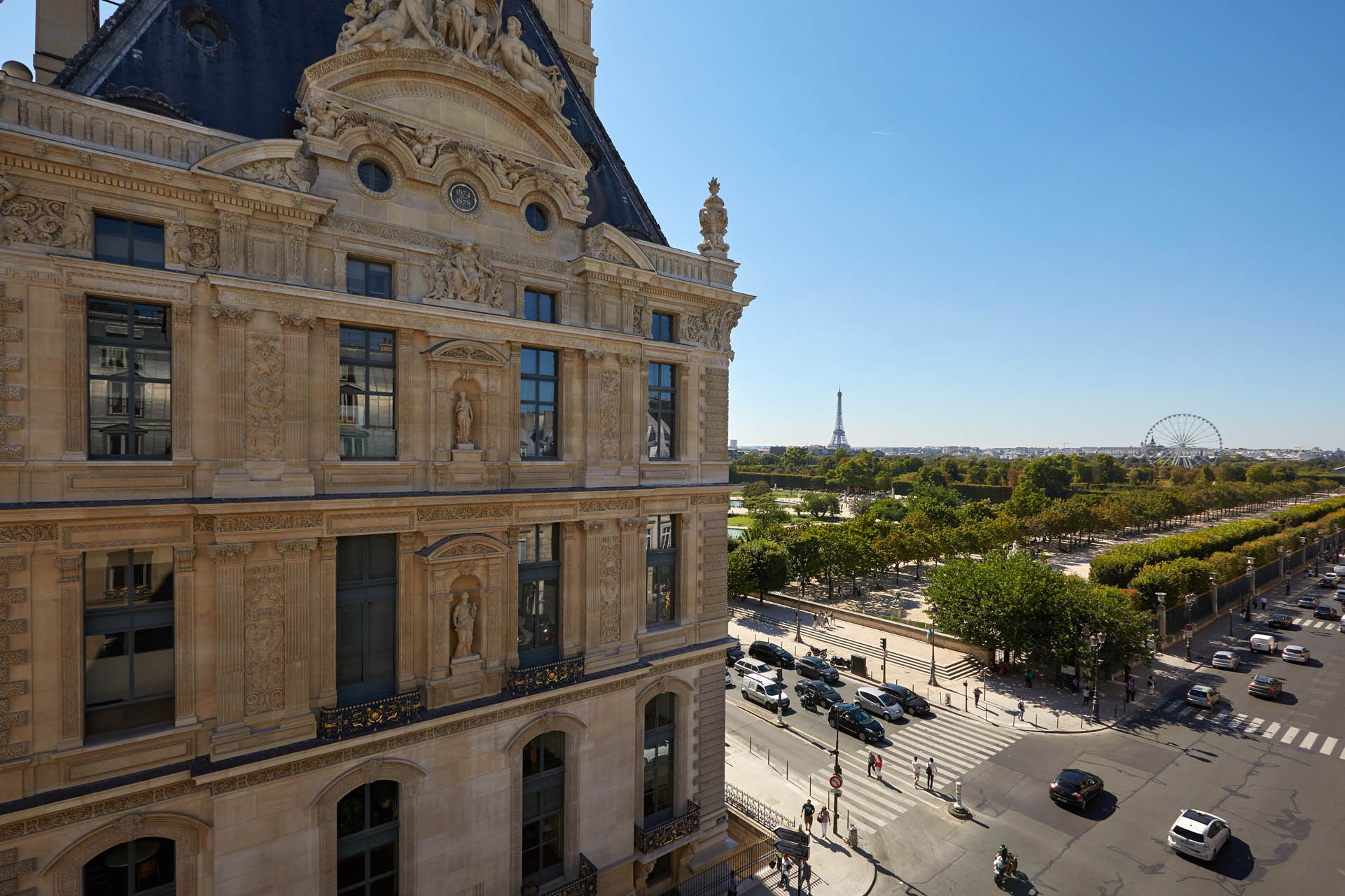 hotels near rue de rivoli paris